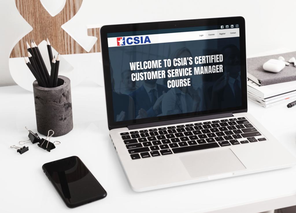 Certified Customer Service Manager Course